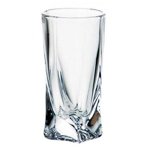 Quadro pohár, ólommentes krisztallit, űrmértéke 50 ml