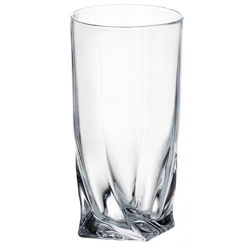 Quadro pohár, ólommentes krisztallit, űrmértéke 360 ml