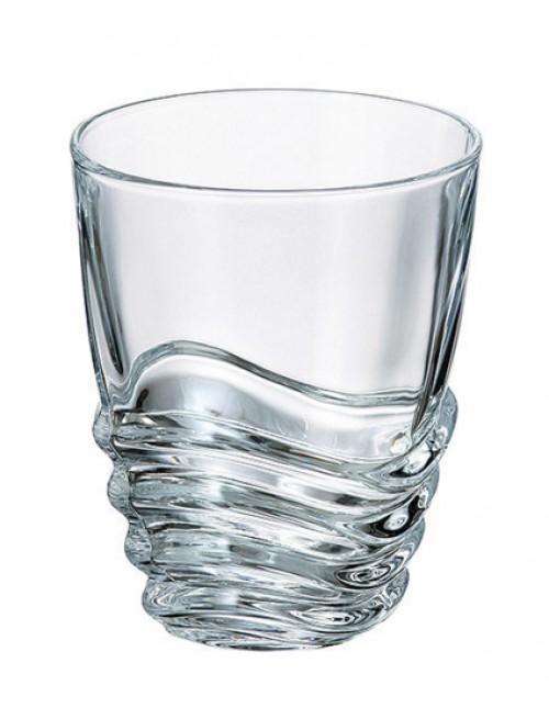 Wave pohár ólommentes krisztallit, űrmértéke 280 mm