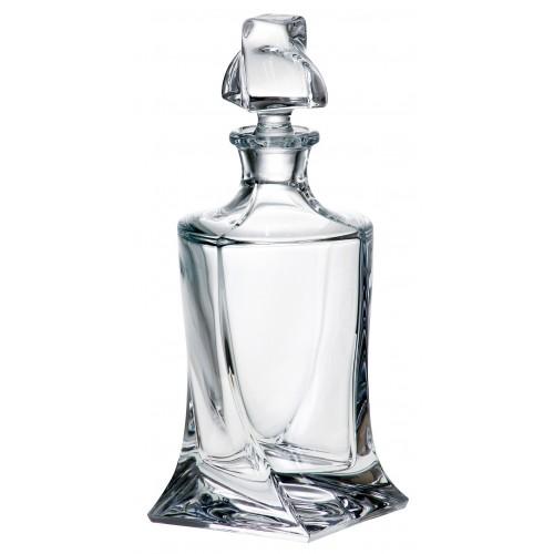 Quadro díszüveg, ólommentes krisztallit, űrmértéke 850 ml