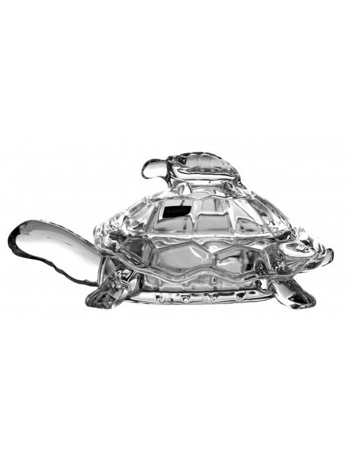 Teknősbéka urna, ólommentes krisztallit, átmérője 265 mm