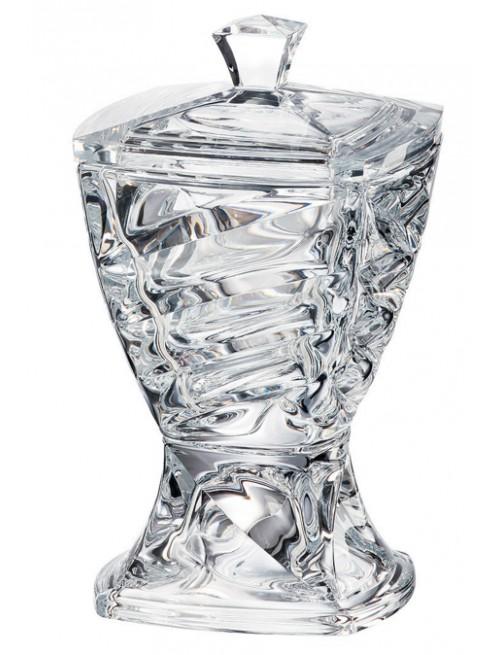 Facet urna, ólommentes krisztallit, átmérője 245 mm
