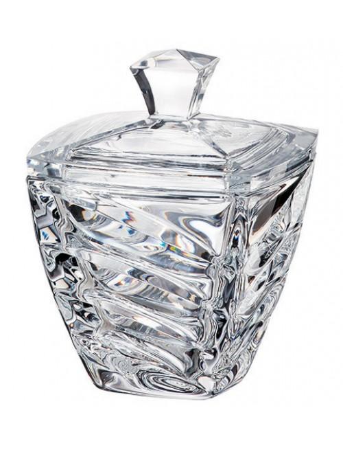Facet urna, ólommentes krisztallit, átmérője 140 mm
