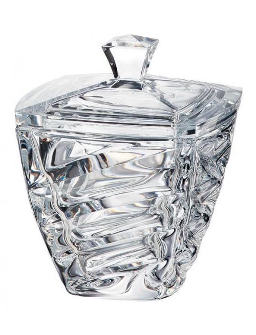 Facet urna, ólommentes krisztallit, átmérője 180 mm