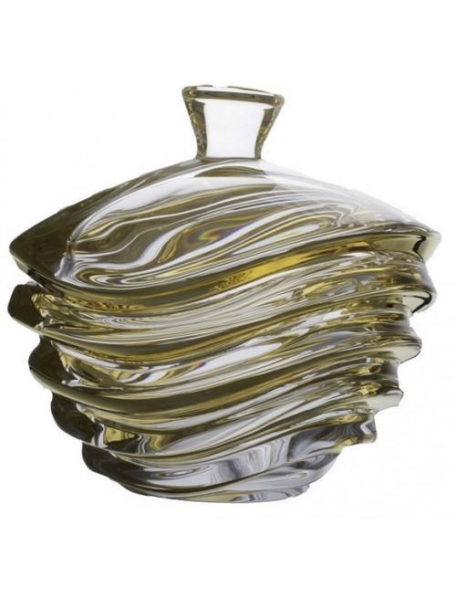 Wave arany urna, ólommentes krisztallit, átmérője 220 mm