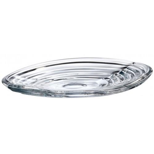 Wave tányér, ólommentes krisztallit, átmérője 360 mm