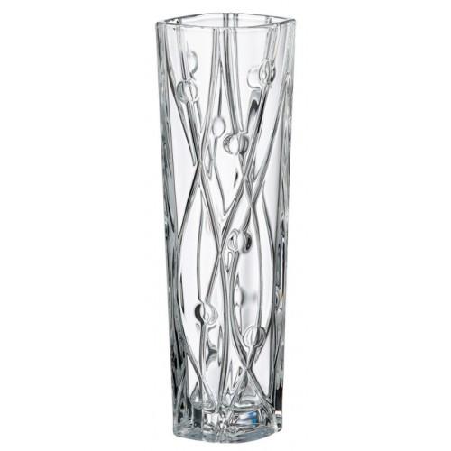 Labyrinth Slim váza, ólommentes krisztallit, magassága 305 mm