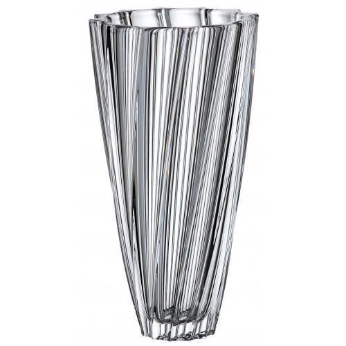 Scallop váza, ólommentes krisztallit, magassága 355 mm