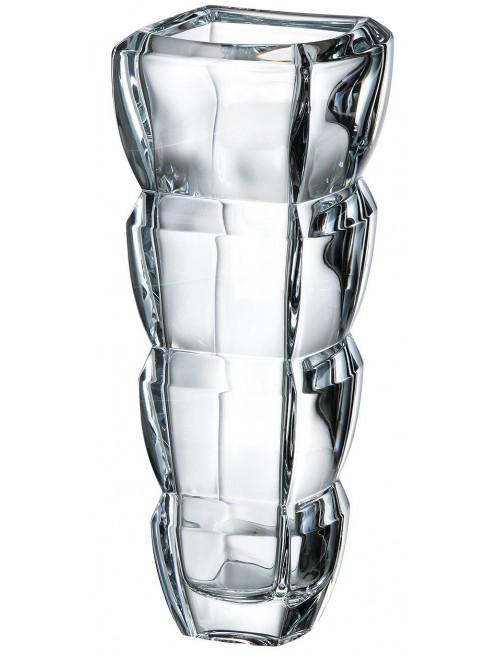 Segment váza, ólommentes krisztallit, magassága 280 mm