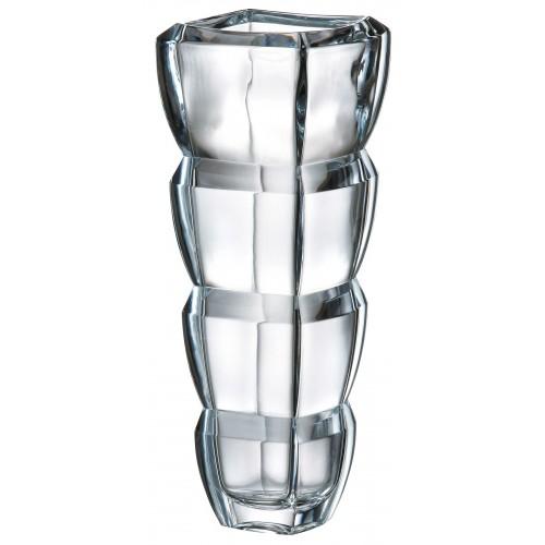 Segment váza, ólommentes krisztallit, magassága 340 mm