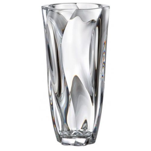 Barley váza, ólommentes krisztallit, magassága 305 mm