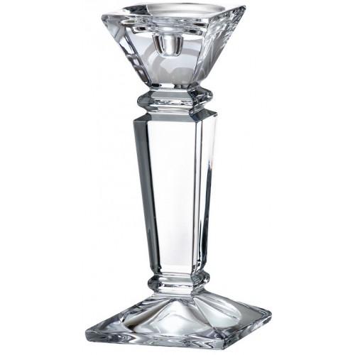 Empery gyertyatartó, ólommentes krisztallit, magassága 250 mm