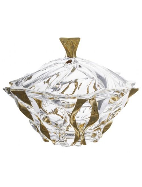 Samba arany urna, ólommentes krisztallit, átmérője 210 mm