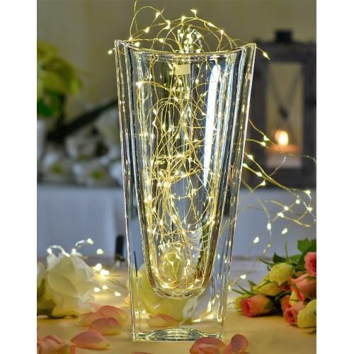 Okinawa váza, ólommentes krisztallit, magassága 255 mm