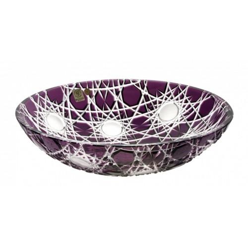 Flake I kristálytál, lila színű, átmérője 280 mm