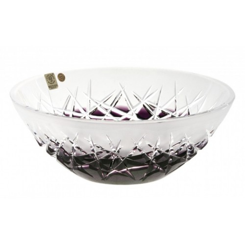 Hoarfrost  kristálytál, lila színű, átmérője 230 mm