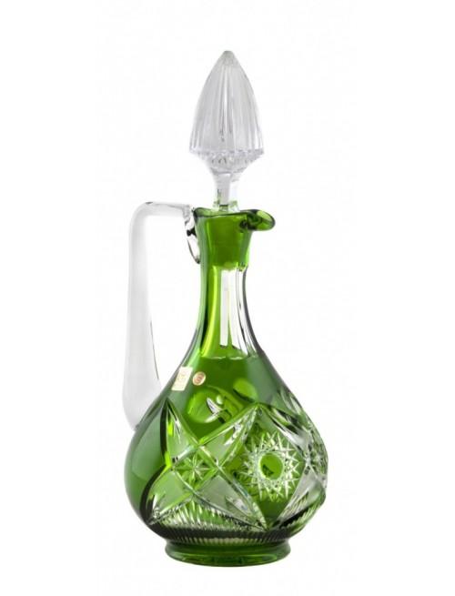 Nordik kristálykarafa, zöld színű, űrmértéke 950 ml