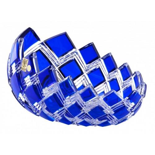 Harlequin kristálytál, kék színű, átmérője 255 mm