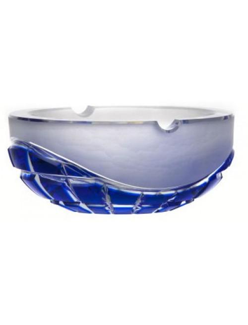 Neron kristály hamutál, kék színű, átmérője 160 mm