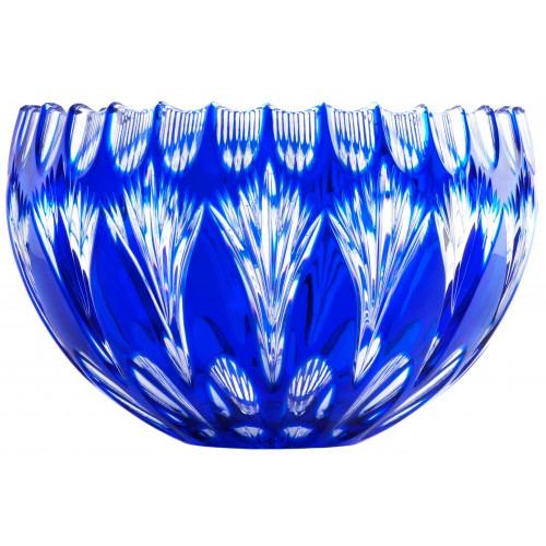 Zora kristálytál, kék színű, átmérője 250 mm