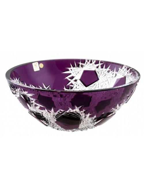 Frost kristálytál, lila színű, átmérője 280 mm