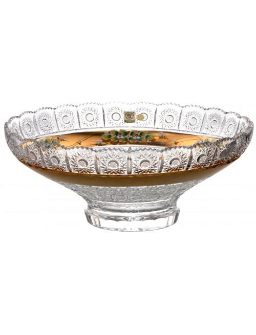 500K Arany kristálytál, áttetsző kristály színű, átmérője 355 mm