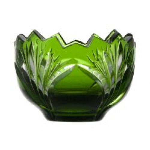 Jonathan kristálytálka, zöld színű, átmérője 95 mm