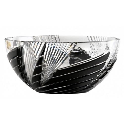 Whirl kristálytál, fekete színű, átmérője 250 mm