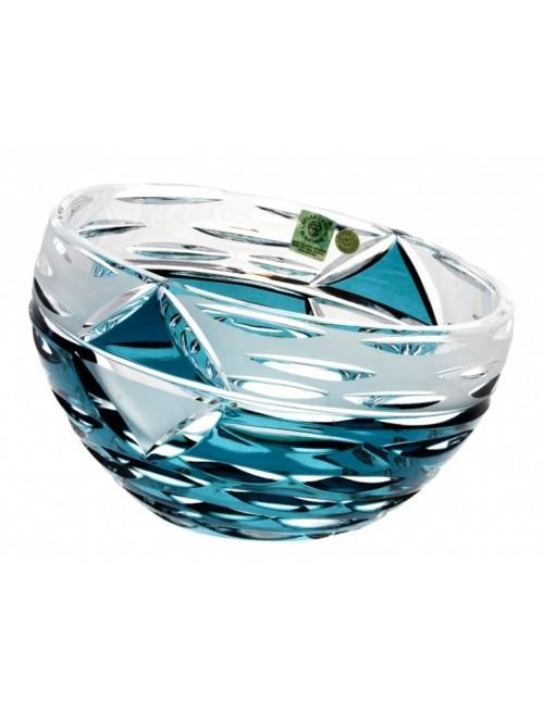 Mirage kristálytál, azúr színű, átmérője 180 mm