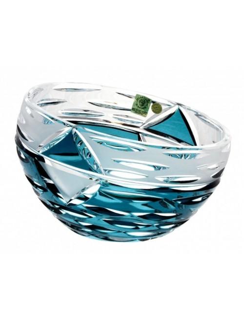 Mirage kristálytál, azúr színű, átmérője 230 mm