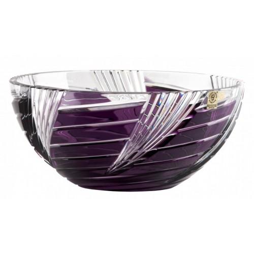 Whirl kristálytál, lila színű, átmérője 250 mm