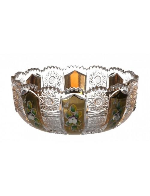 500K Arany I kristálytál, áttetsző kristály színű, átmérője 180 mm