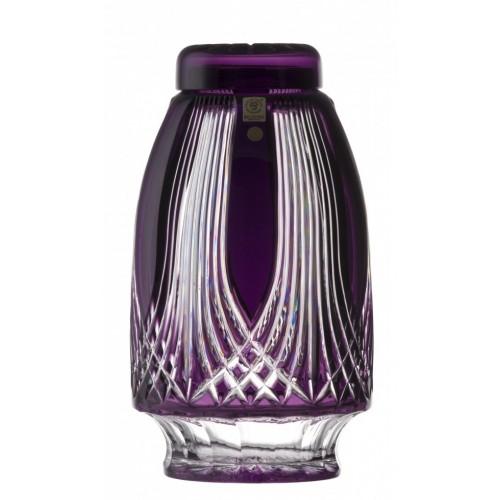 Gotik kristályurna, lila színű, mérete 280 mm