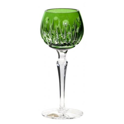 Heyday kristály borospohár, zöld színű, űrmértéke 170 ml