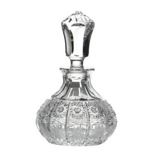 500PK kristály parfümös üveg, áttetsző kristály színű, űrmértéke 130 ml