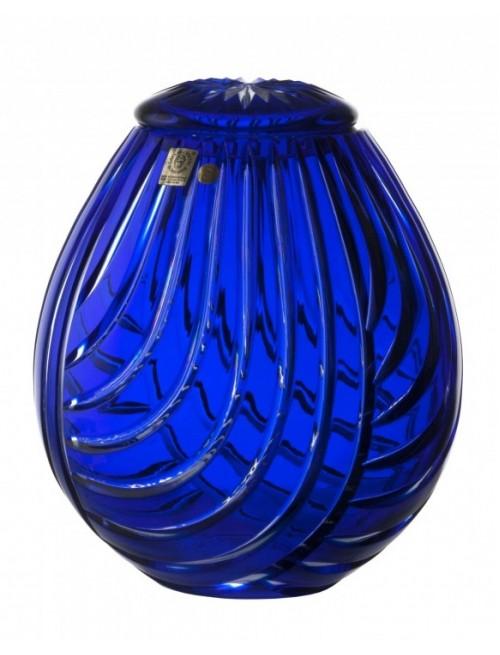 Linum kristályurna, kék színű, magassága 230 mm