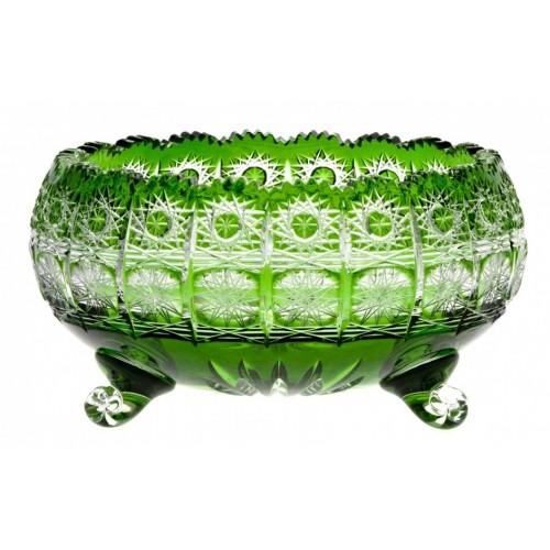 Paula kristálytál, zöld színű, átmérője 230 mm