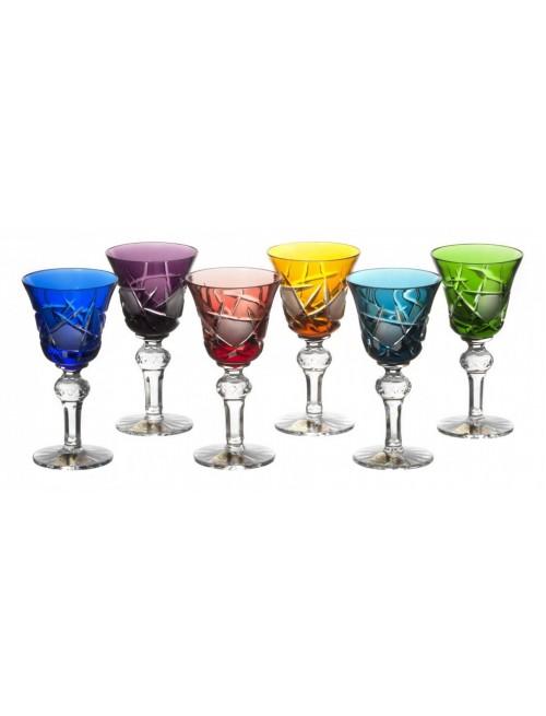 Mars 050 kristály pohár készlet, szín mix, űrmértéke 50ml
