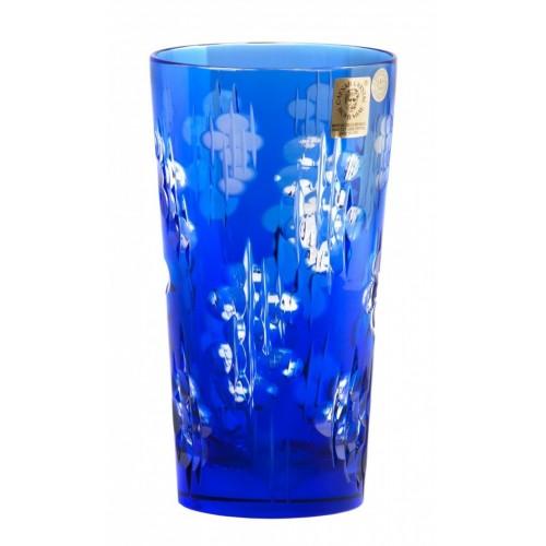 Silentio kristálypohár, kék színű, űrmértéke 320 ml