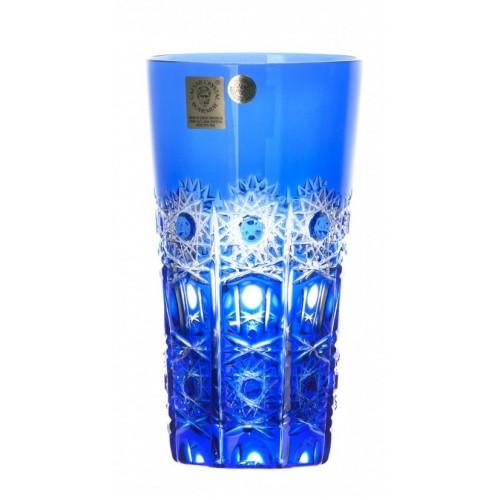Petra kristálypohár, kék színű, űrmértéke 320 ml