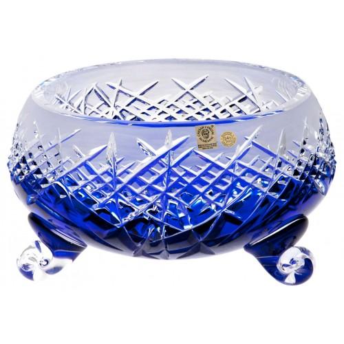 Hoarfrost kristálytál, kék színű, átmérője 155 mm
