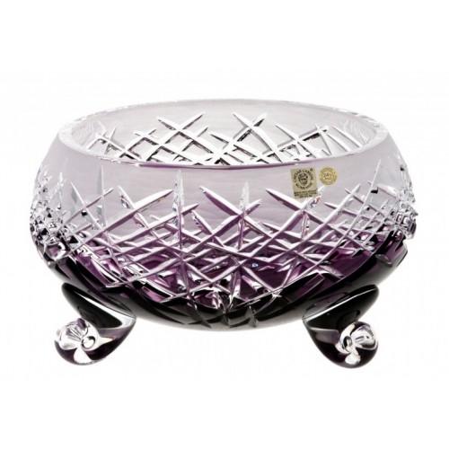 Hoarfrost kristálytál, lila színű, átmérője 155 mm
