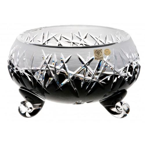 Hoarfrost kristálytál, fekete színű, átmérője 155 mm