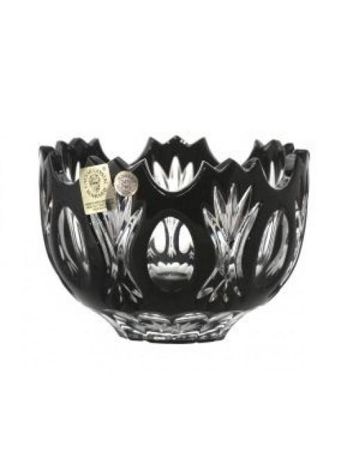 Dandelion kristálytálka, fekete színű, átmérője 110 mm