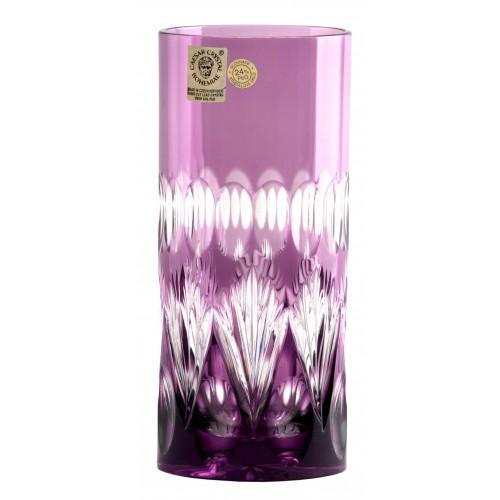 Zora kristálypohá, lila színű, űrmértéke 350 ml