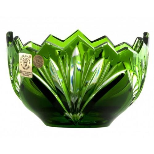 Jonathan kristálytálka, zöld színű, átmérője 110 mm