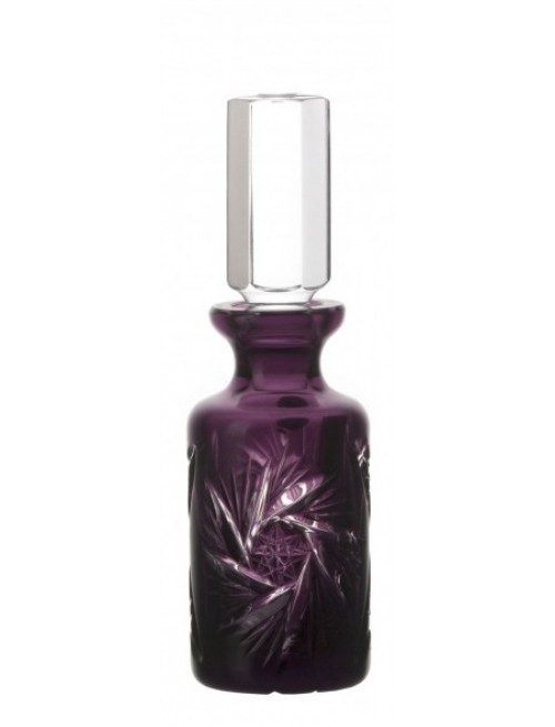 Pinwheel kristály parfümös üveg, lila színű, űrmértéke 70 ml
