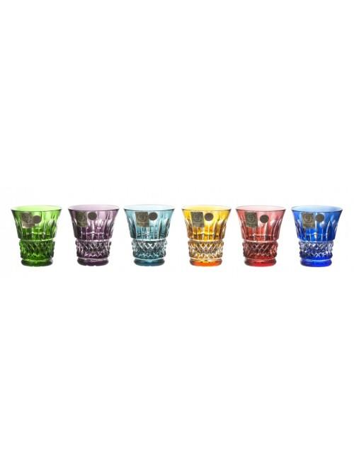 Tomy kristály pohár készlet, szín mix, űrmértéke 45 ml