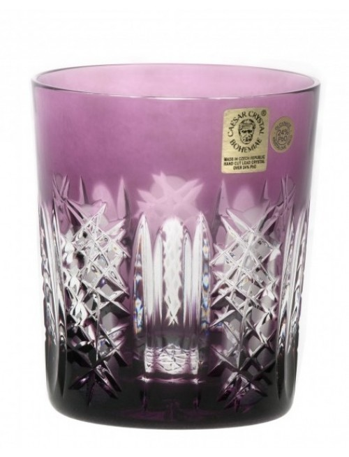 Frigus kristálypohár, lila színű, űrmértéke 290 ml