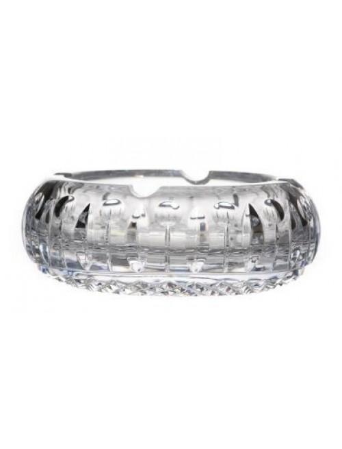 Tomy kristály hamutál, áttetsző kristály színű, átmérője 155 mm